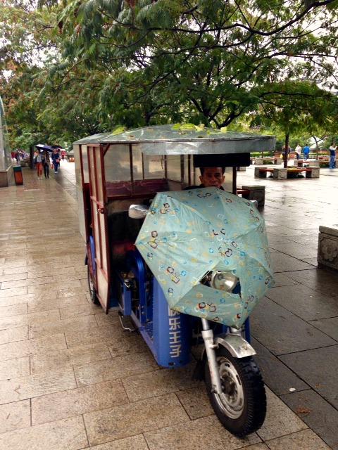 Tuk Tuk wet weather gear