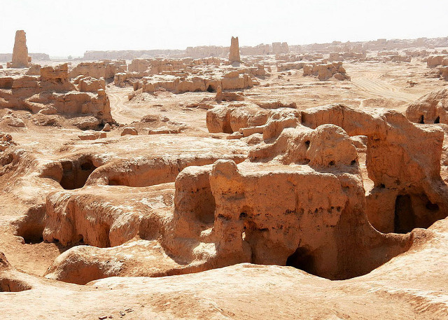 Jiaohe Silk road ruins