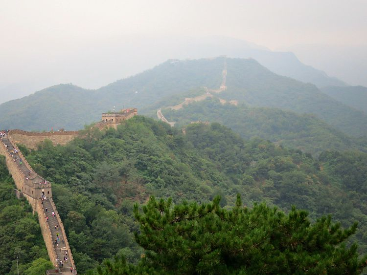 Mutianyu Great wall Beijing Mint Mocha Musings