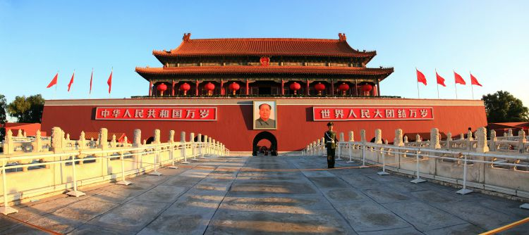 Tiananmen Square China | MINT MOCHA MUSINGS