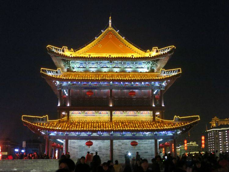 Chinese Bell Tower Xian