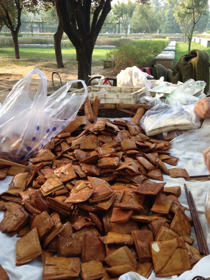 Buying Tofu Markets China