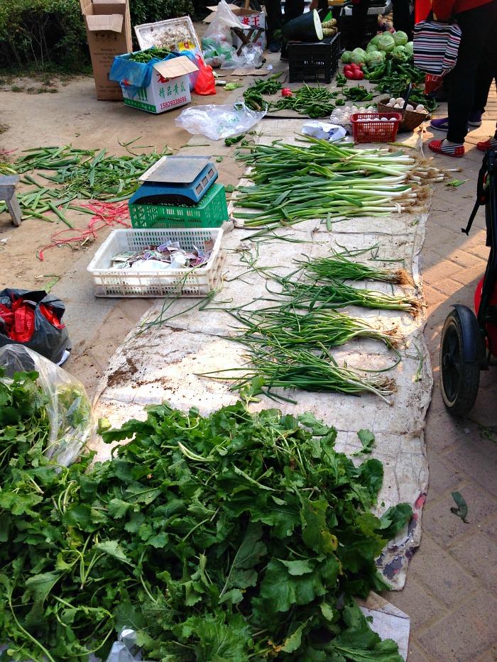 GM xian Greenery markets