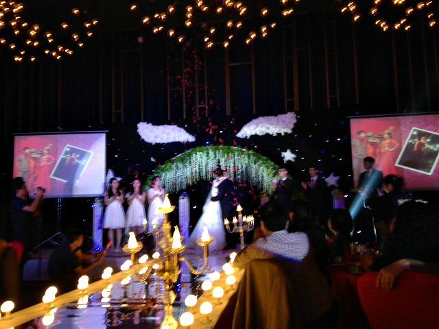 Wedding in China Runway