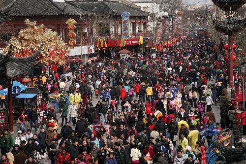 Chinese New Year rural china