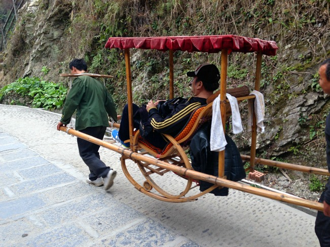 Transport in old China