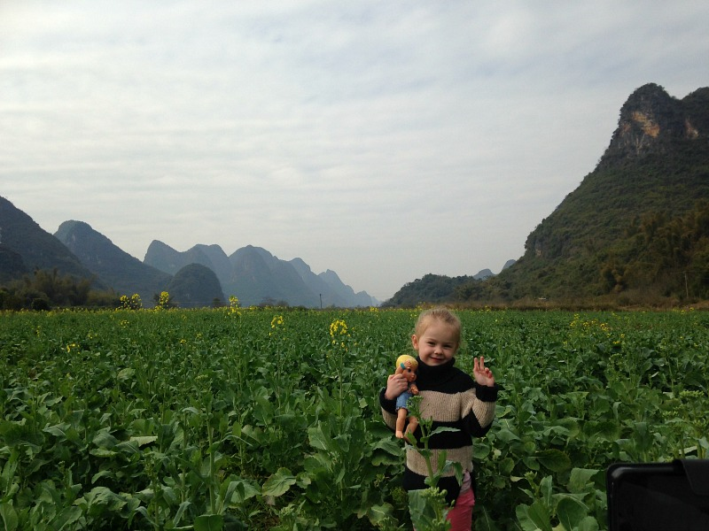 Guilin Yangshuo Scenery Biking