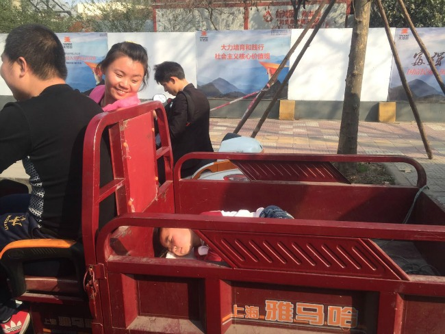 Road rules in Xi'an