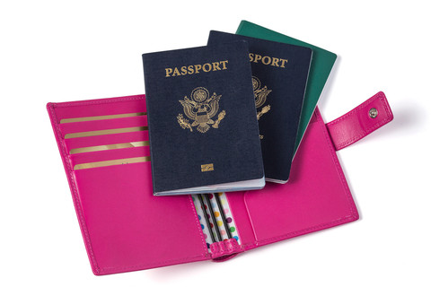 Chic passport holder