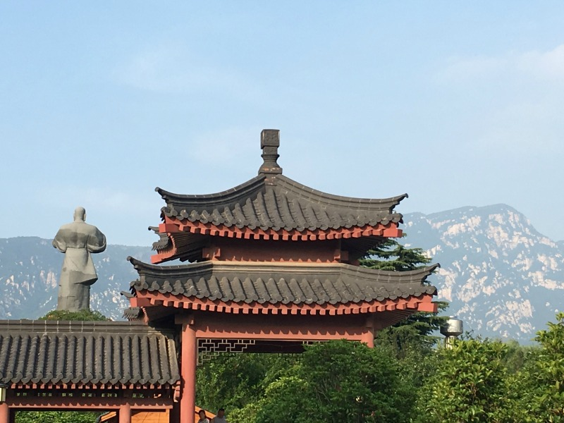 Travelling to Shaolin Temple