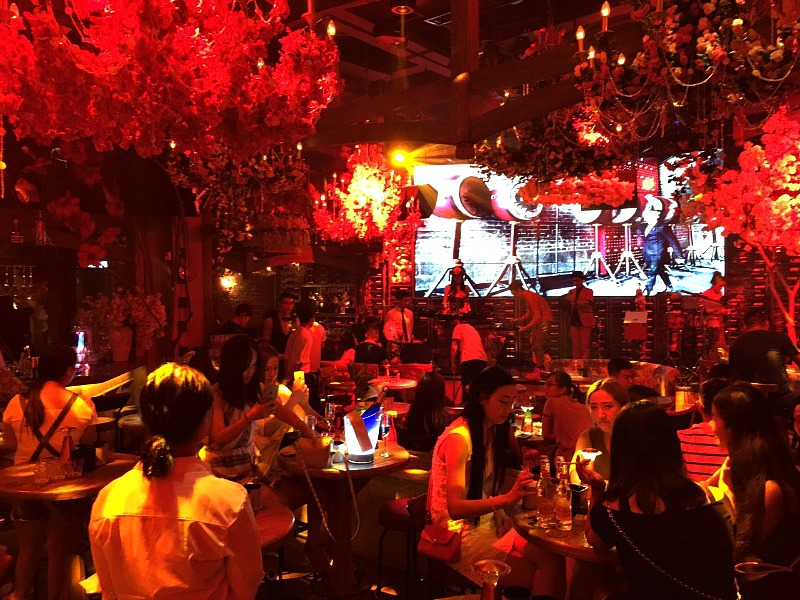 Nightclub in Xi'an China