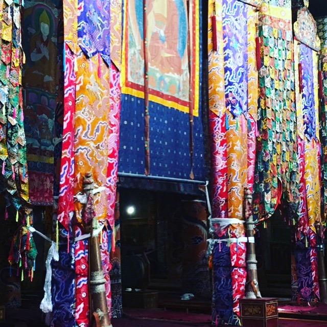 Inside Sera Monastery Tibet