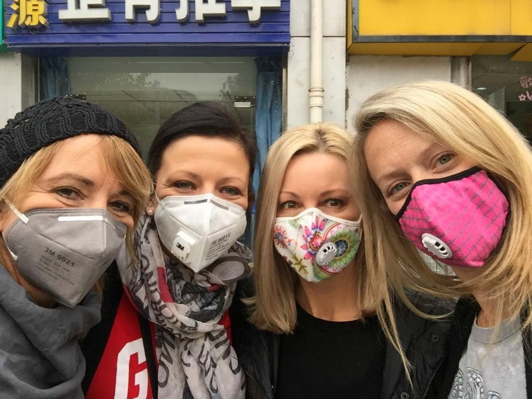 foreigners in china's pollution