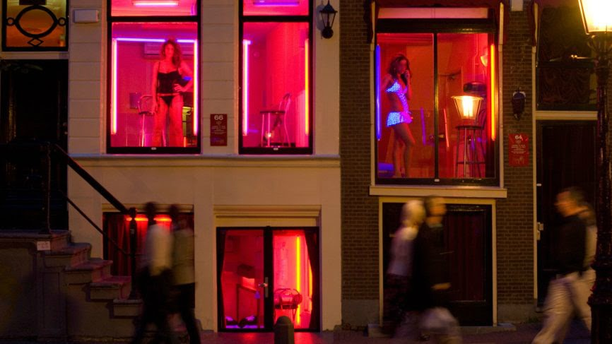 window Prostitutes in Amsterdam