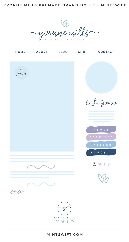 Yvonne Mills Premade Branding Kit