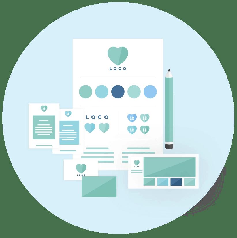 Brand design package by MintSwift