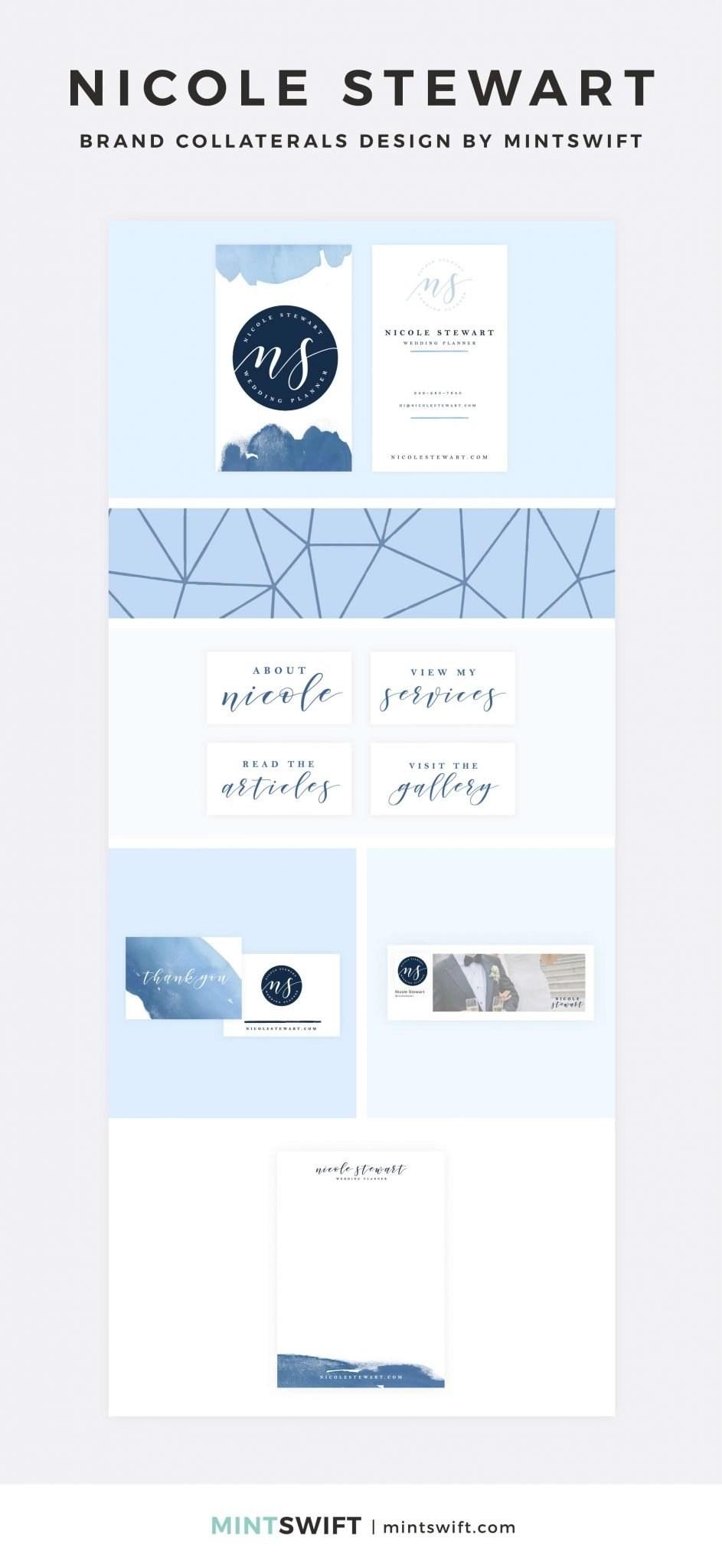 Nicole Stewart - Brand Collaterals Design - MintSwift - Adrianna Leszczynska