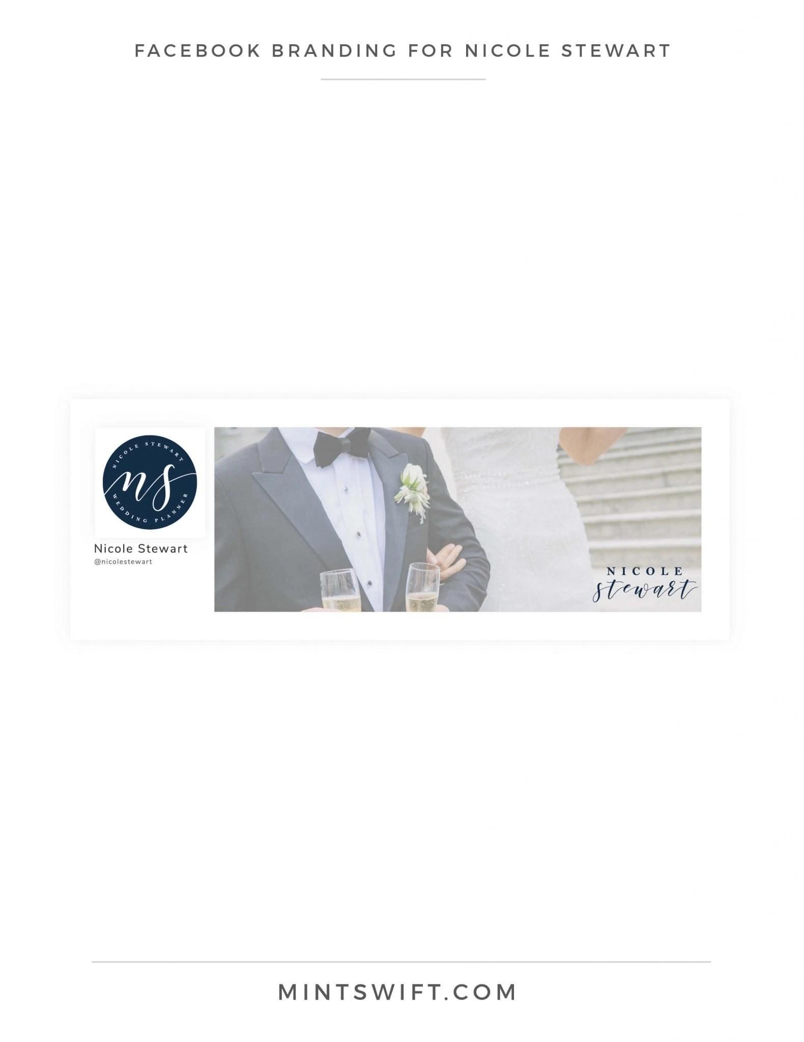 Nicole Stewart - Facebook Branding - Brand Design Package - MintSwift