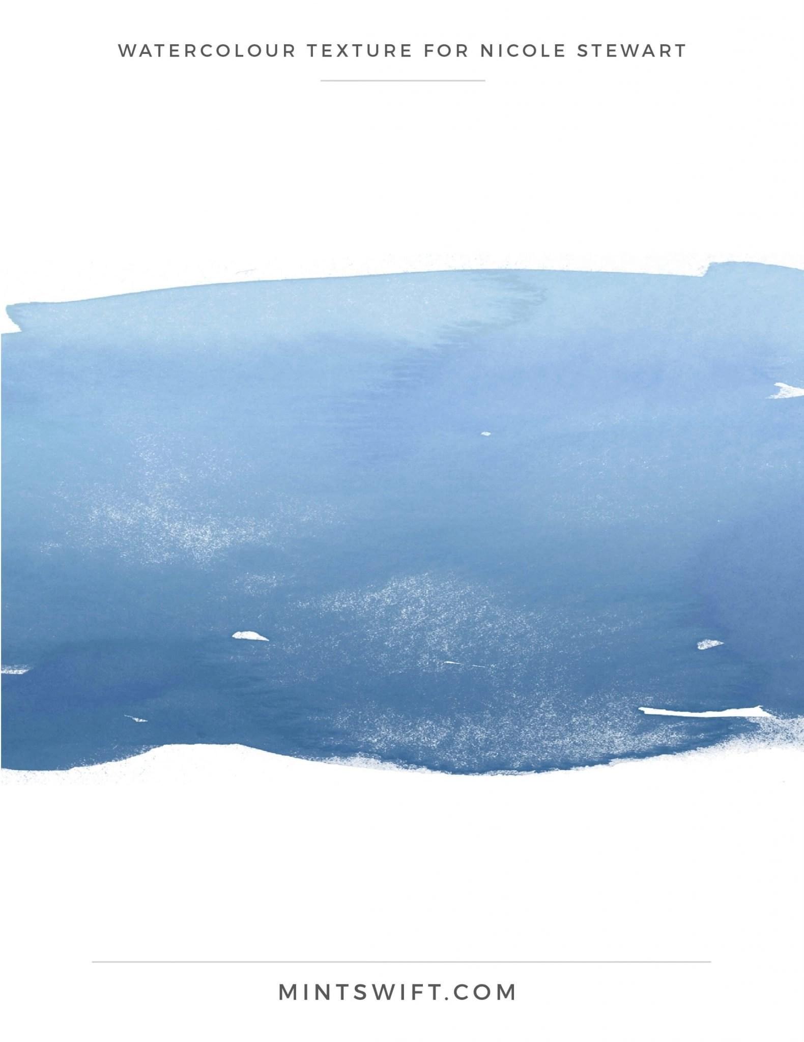 Nicole Stewart - Watercolour Texture - Brand Design Package - MintSwift