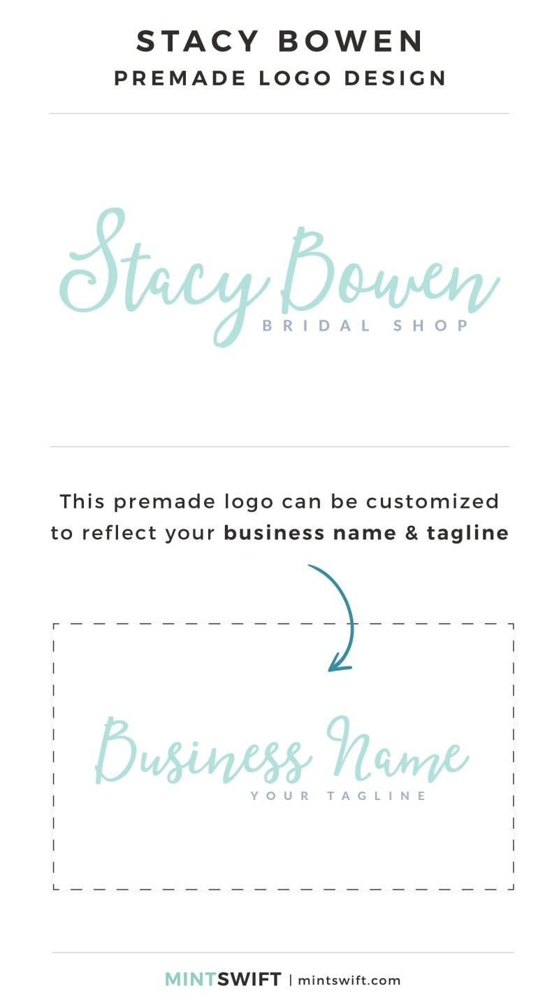 Stacy Bowen Premade Logo