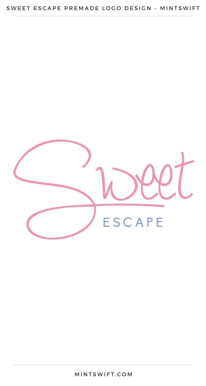 Sweet Escape Premade Logo