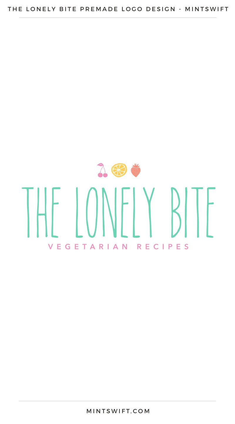 The Lonely Bite Premade Logo – MintSwift