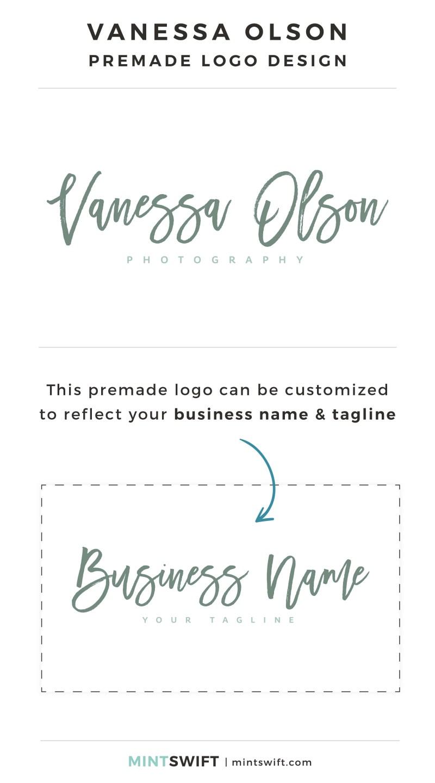 Vanessa Olson Premade Logo