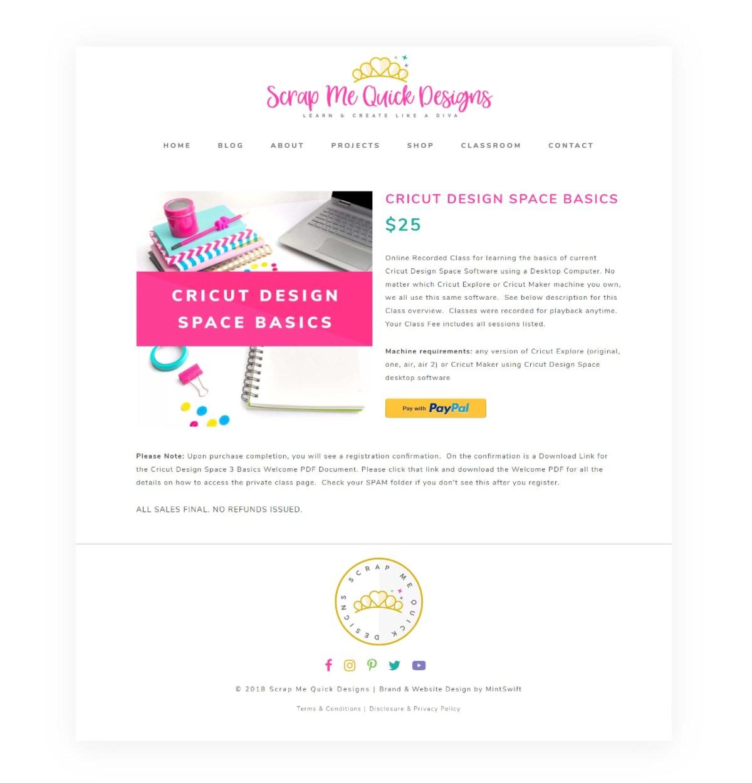 Brand & E-commerce + Membership Website Design for Scrap Me Quick Designs | Brand & Website Design | Brand & Web Design Package | WordPress Website Design | E-commerce Website | Membership Website | Brand Design | Brand Identity | Brand Board | Business Cards Design | Facebook Branding | Blog Categories Icons | Re-branding | Redesign | Blog post graphics templates | Brand Collaterals Design | Website Design | Logo Design | MintSwift | MintSwift Portfolio | MintSwift Design | Adrianna Glowacka