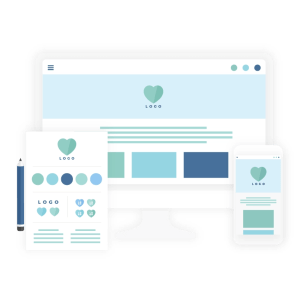 Brand & website design package icon - MintSwift