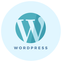 WordPress installation icon - Brand & Website Design package - MintSwift