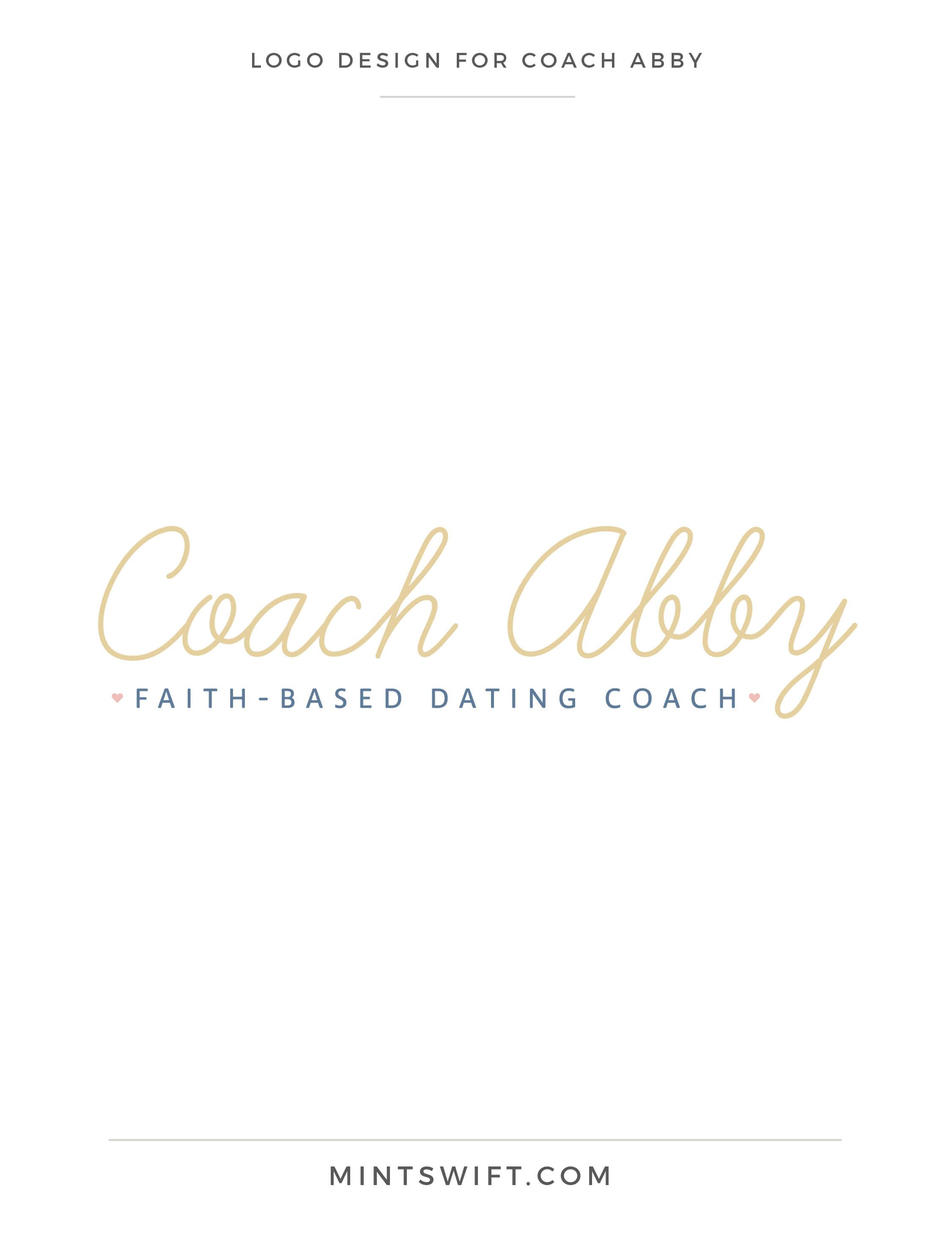 Coach Abby - Logo Design - Brand Design - MintSwift