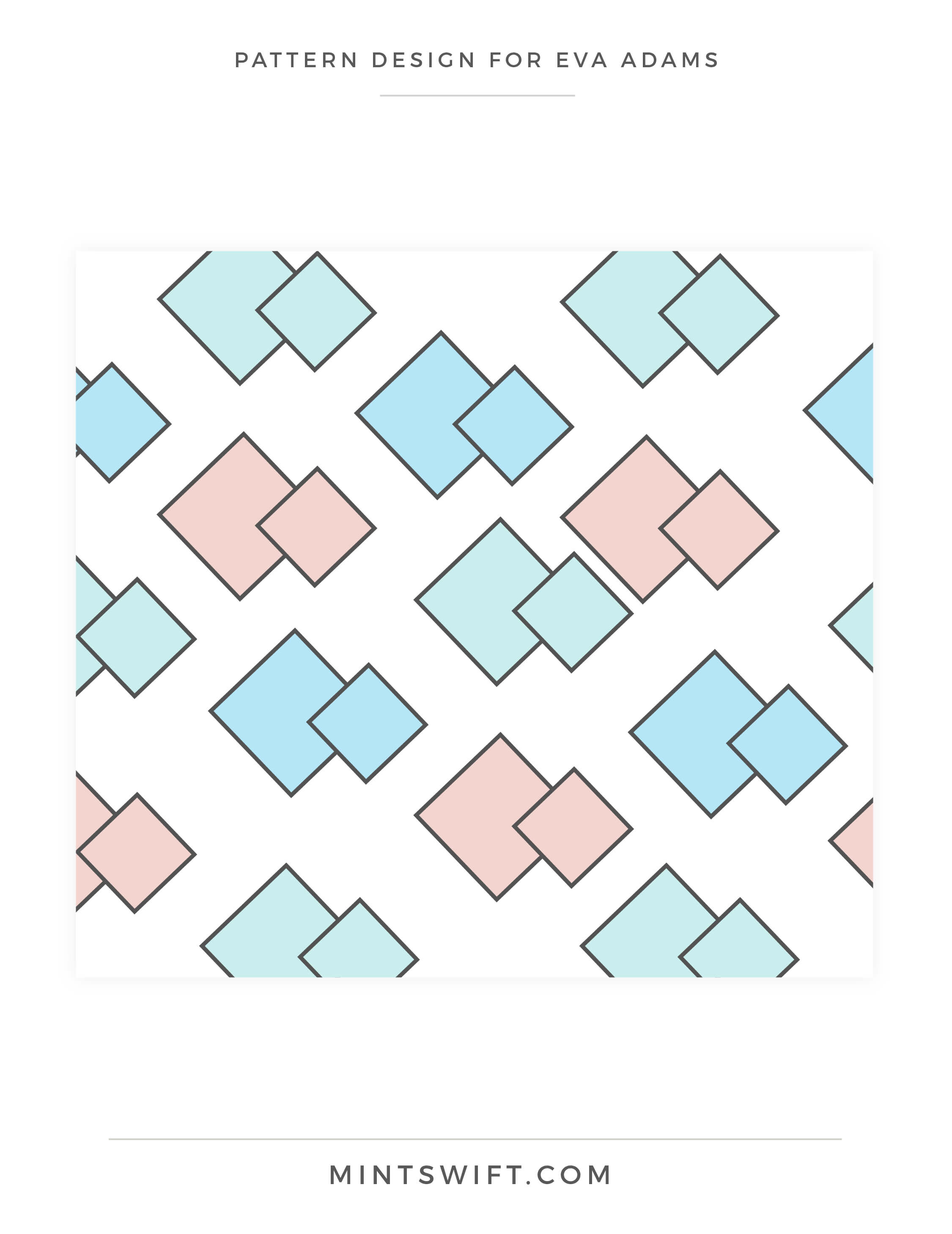 Eva Adams - Pattern design - MintSwift