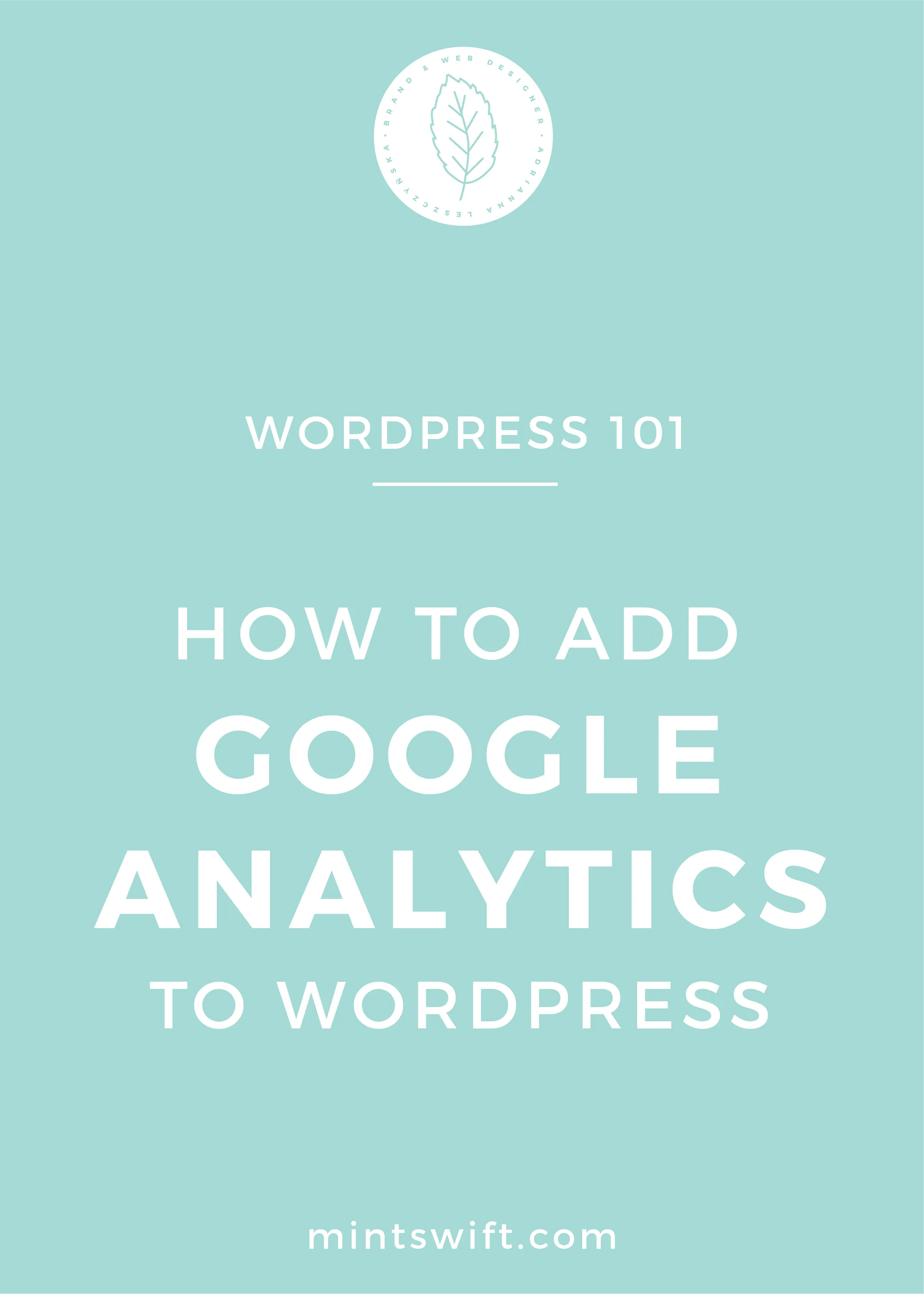 How to Add Google Analytics to WordPress - MintSwift