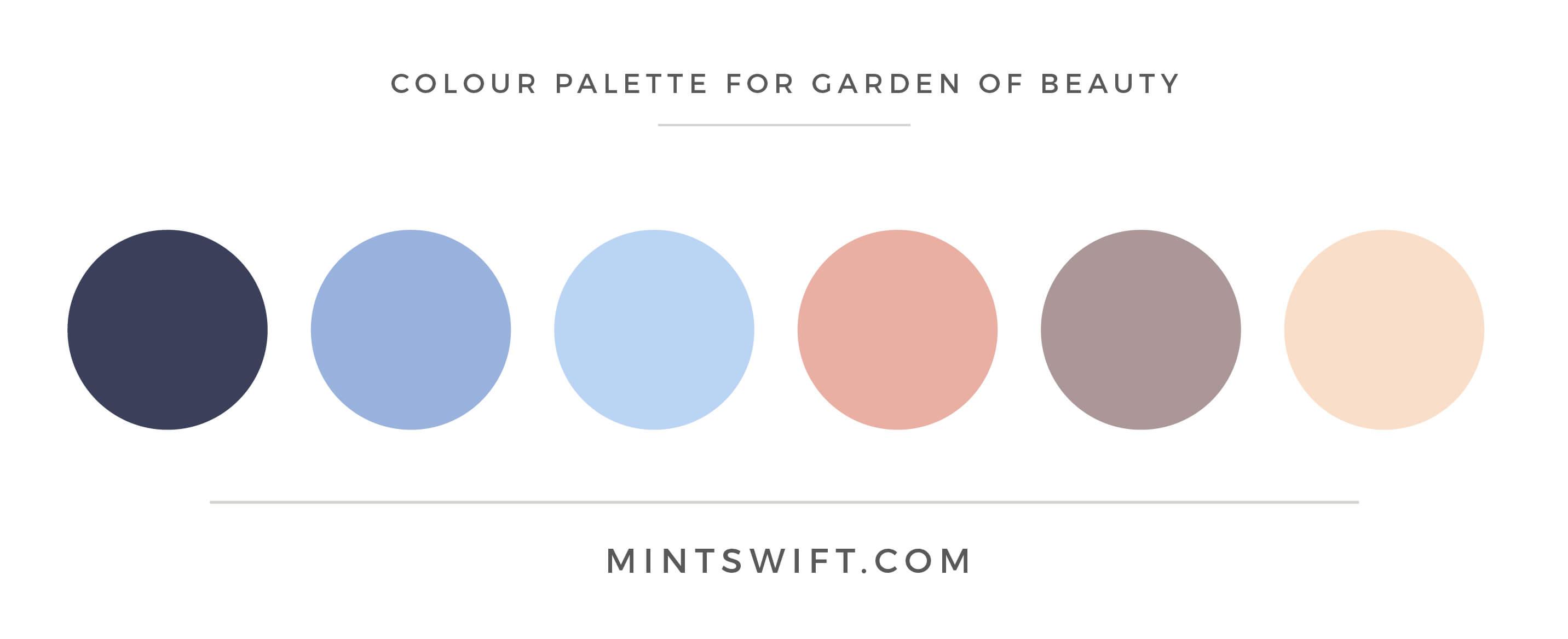 Garden of Beauty - Blog Categories Icons - Brand Design Package - MintSwift