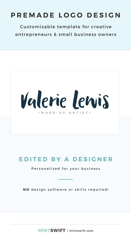 Valerie Lewis Premade Logo