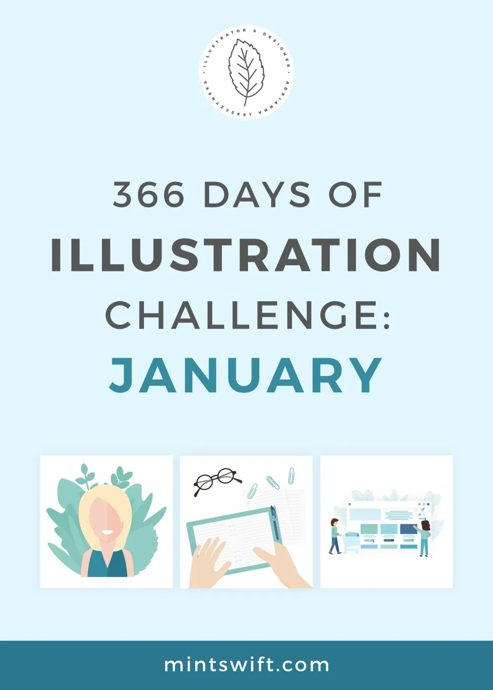 366 Days of Illustration Challenge – January
