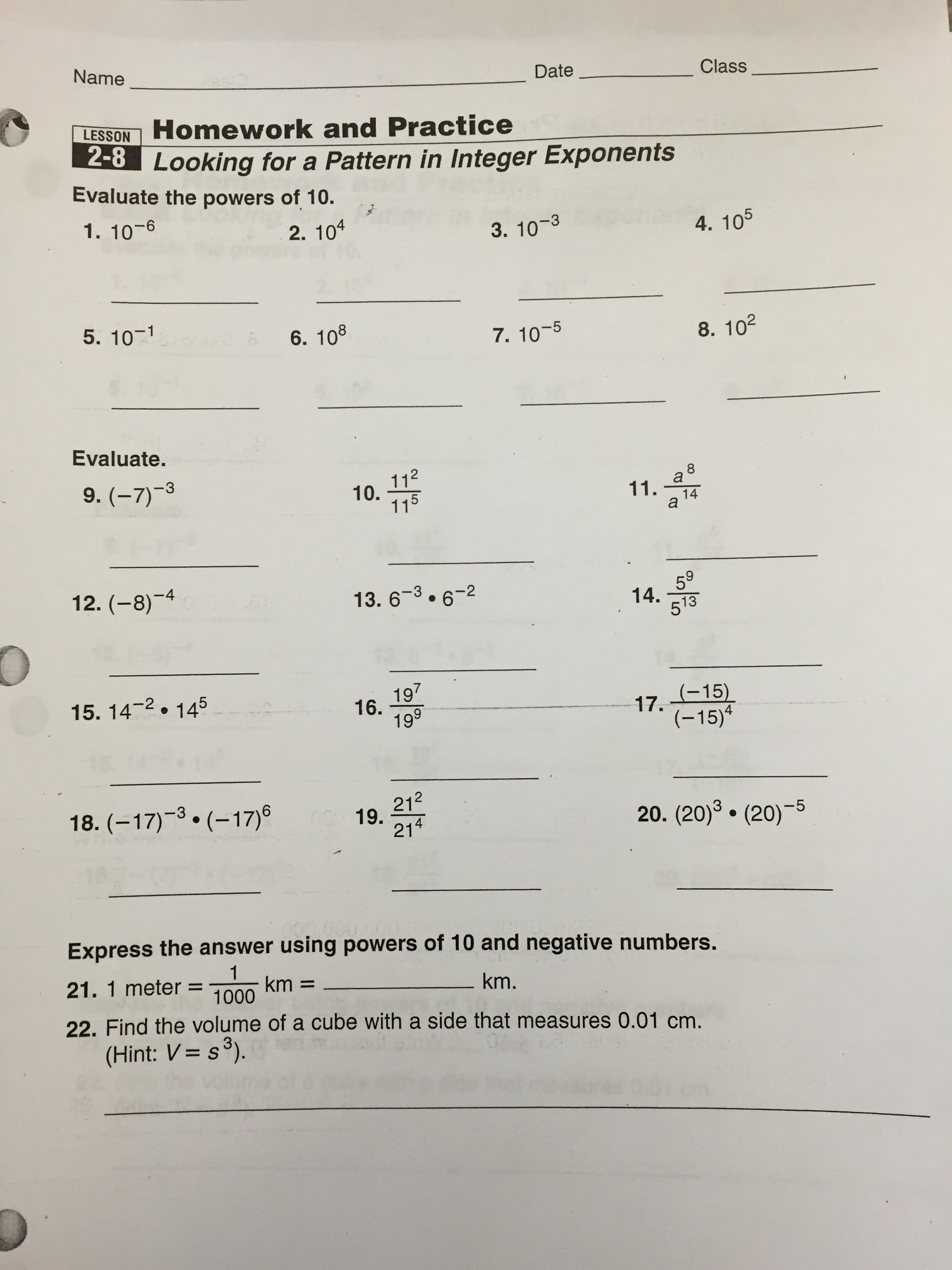 Help Me With 7th Grade Math Homework