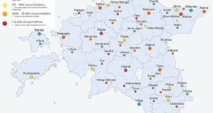 Reoveeseire tulemused 13. 17. septembril. Allikas Tartu Ülikool scaled