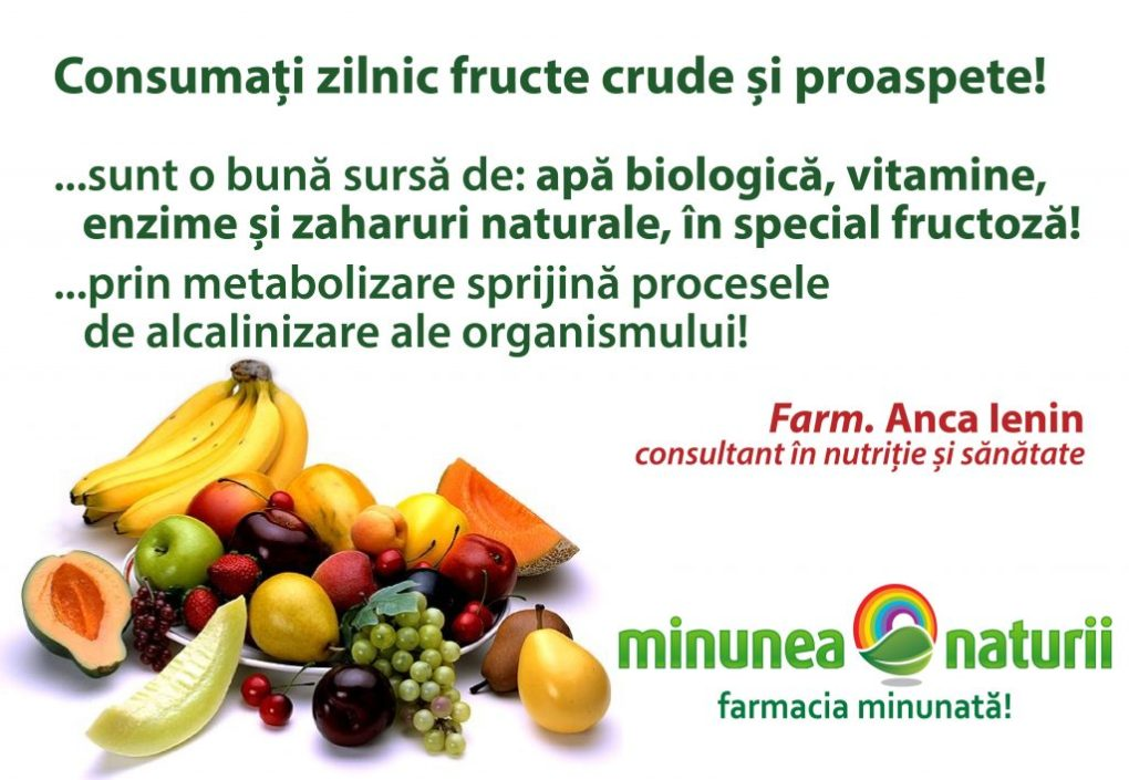 Fructe si legume proaspete - Minunea Naturii Farm. Anca Ienin - consultant in nutritie si sanatate