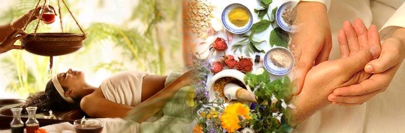 ayurveda. medicina indiana