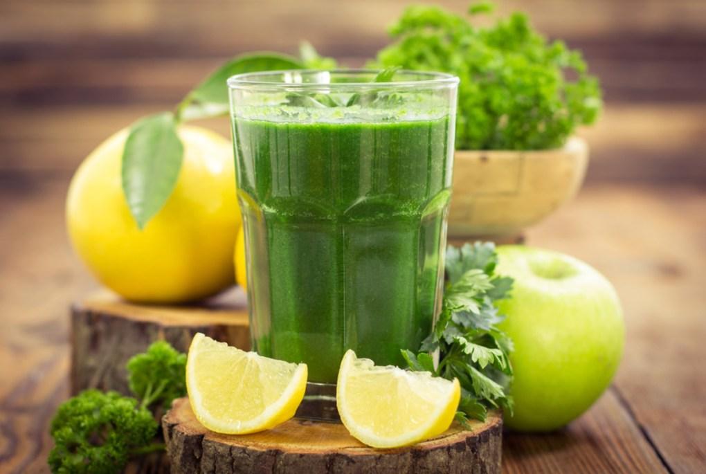 dieta cu sucuri verzi