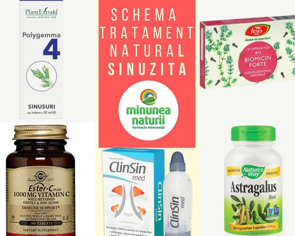 Tratament natural sinuzita