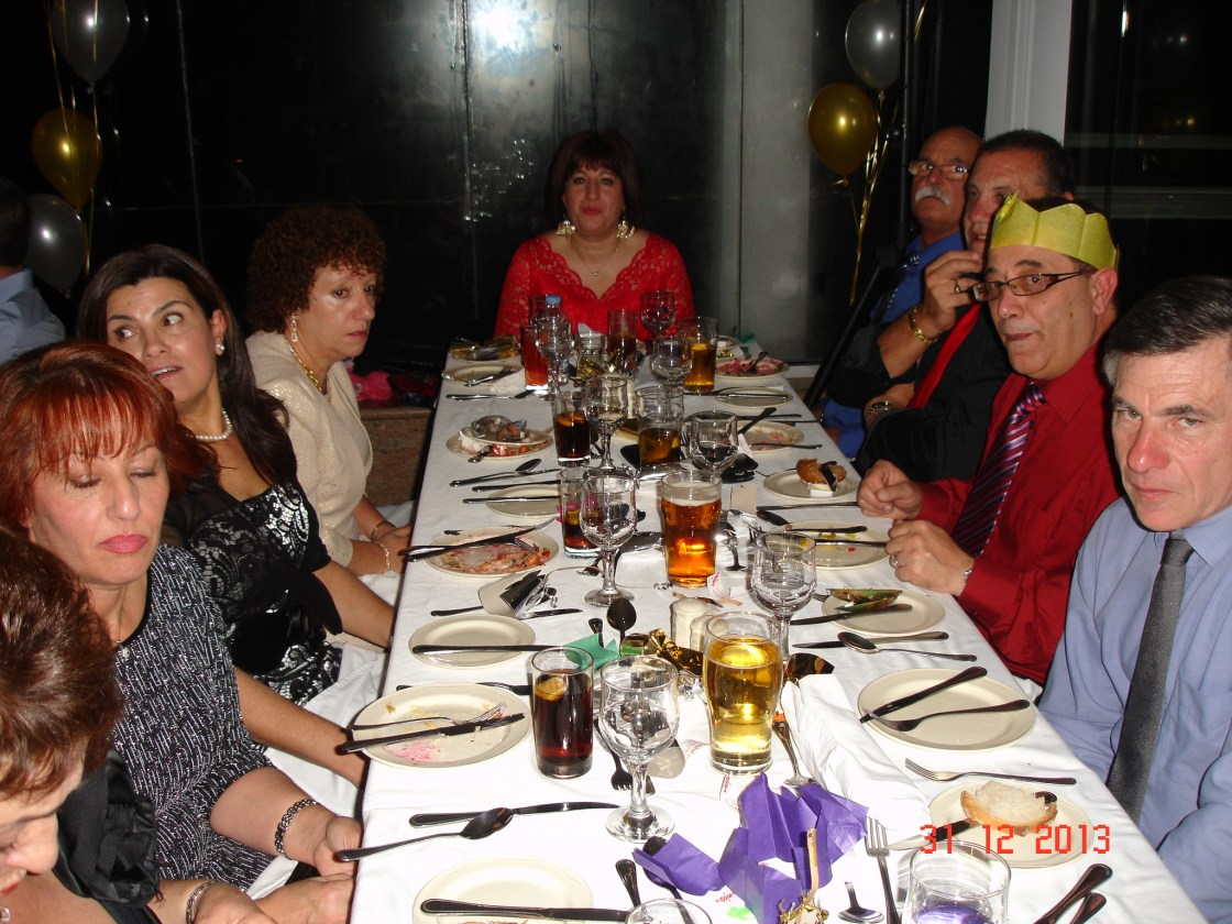 New Year's Eve Dinner at Preluna Hotel 2013