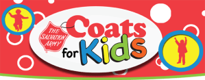 Salvation Army Coats for Kids