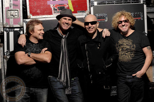 Integrantes do Chickenfoot