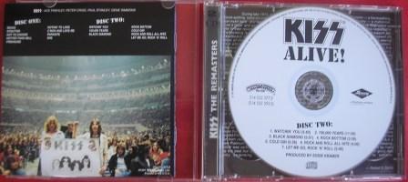 A contracapa no CD duplo