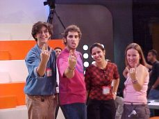 Marcus, Mion, Fernanda e Thais