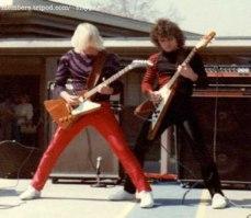 Kerry King e Jeff Hanneman