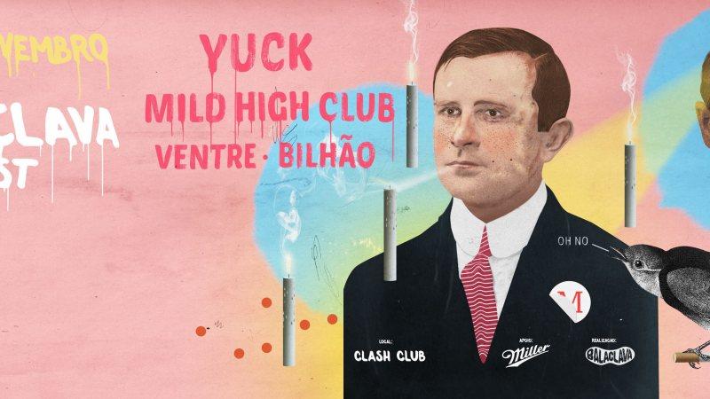 Balaclava Fest apresenta Yuck, Mild High Club, Ventre e Bilhão, em São Paulo
