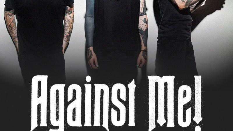 Against Me! finalmente em turnê pelo Brasil